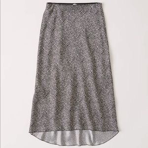 A&F High-Low Midi Skirt